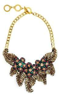 Forest of Chintz Jeweled Flower Necklace