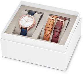 Fossil Suitor Three-Hand Interchangeable Strap Gift Set