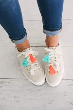 Keds Triple Kick Tassel Sneakers