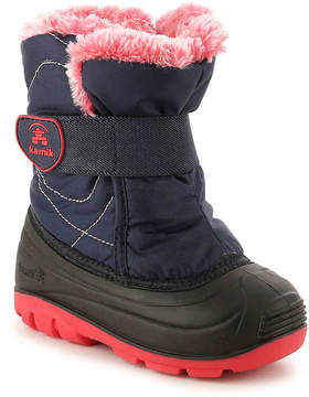 Kamik Girls Snowbug Toddler Snow Boot