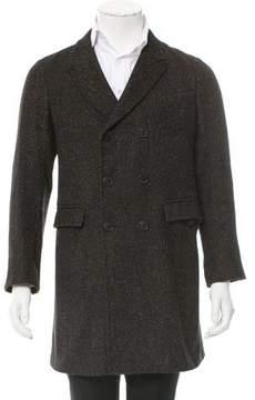 Billy Reid Double-Breasted Wool-Blend Coat
