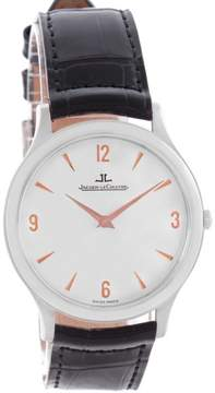 Jaeger-LeCoultre Jaeger Lecoultre Master 145.6.79 Platinum Ultra-Thin & Silver Dial 34mm Mens Watch