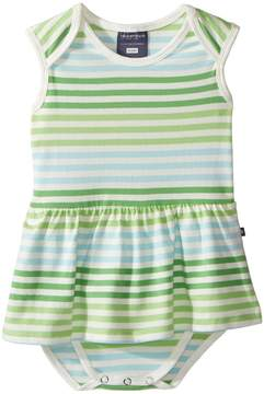 Toobydoo Multi Stripe Ballerina Dress (Infant)
