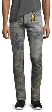 Robin's Jeans Tatiana-Wash Skinny Jeans, Gray