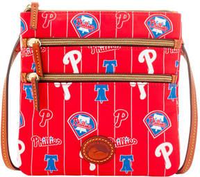 Dooney & Bourke MLB Phillies Triple Zip Crossbody - PHILLIES - STYLE