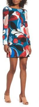 Charles Henry Women's Long Sleeve Shift Dress