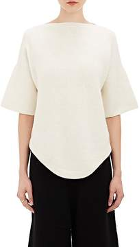 LAUREN MANOOGIAN Women's Dovetail Short-Sleeve Sweater