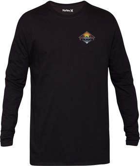 Hurley Men's Tropics Long-Sleeve Graphic T-Shirt
