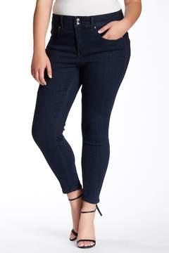 Melissa McCarthy High Rise Pencil Jeans (Plus Size)