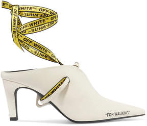 Off-White Heeled Mule