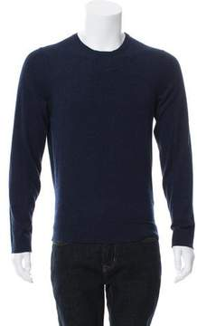Calvin Klein Collection Woven Crew Neck Sweater