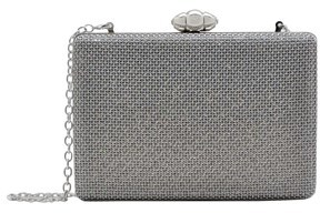 La Regale Jaime Sparkle Mesh Rectangle Clutch.
