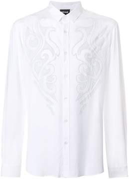 Just Cavalli front embellished shirt