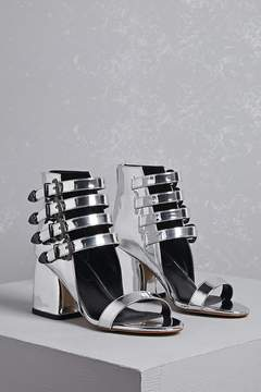 Forever 21 Privileged Shoes Strappy Booties