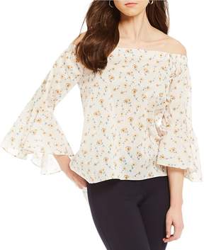 Antonio Melani Kate Floral Print Bell Sleeve Blouse Made With Liberty Fabrics