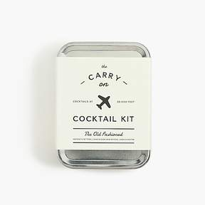 J.Crew W&P DesignTM old-fashioned carry-on cocktail kit