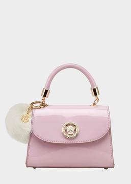 Versace Medusa Patent Leather Bag