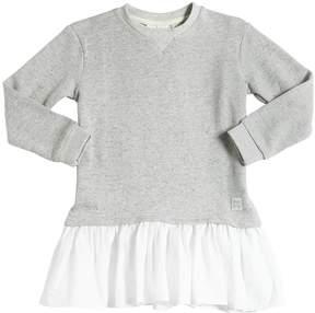 Molo Cotton Sweatshirt & Poplin Dress