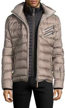 Bogner Men's Quilted Hooded Jacket