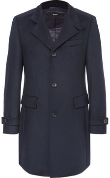 HUGO BOSS Sintrax Virgin Wool And Cashmere-Blend Coat