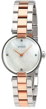 Rado Coupolse Mother of Pearl Diamond Dial Ladies Watch