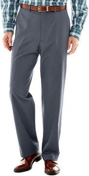 Izod Light Blue Tic Flat-Front Suit Pants-Classic Fit