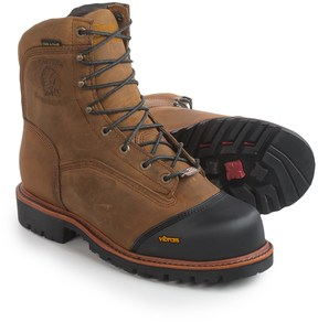 "Chippewa Apache Work Boots - Composite Safety Toe, Waterproof, Insulated, 8"" (For Men)"