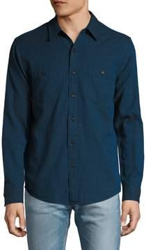 Faherty Men's Seasons Solid Sportshirt
