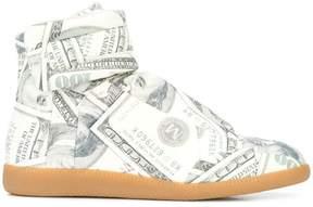 Maison Margiela dollar print Future hi-top sneakers