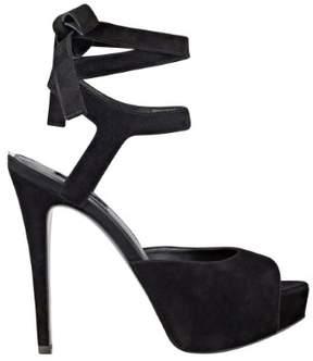 GUESS Women's Kassie Wrapped Heels