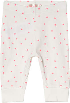 Billieblush White and Pink Spot Leggings