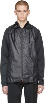 adidas x Kolor Black Fabric Mix Jacket