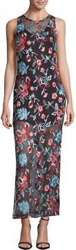 Alexia Admor Women's Embroidered Sleeveless Dress