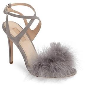 Topshop Women's Reine Feathered Sandal