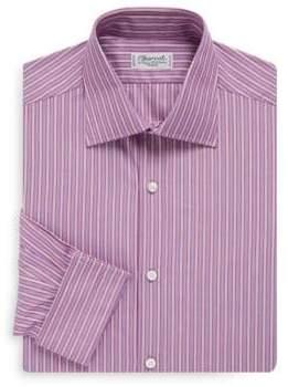 Charvet Regular-Fit Bold Stripe French Cuff Dress Shirt