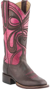Lucchese Bootmaker M4831.WF Square Toe Fowler Heel Boot (Women's)