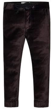 DL1961 Girl's Mel Velvet Jogger Pants