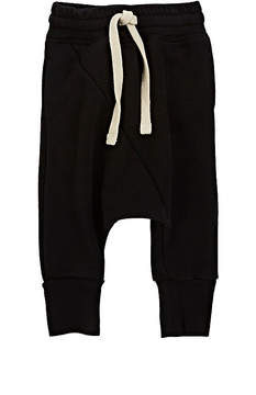 Nununu Cotton-Blend French Terry Drop-Rise Sweatpants
