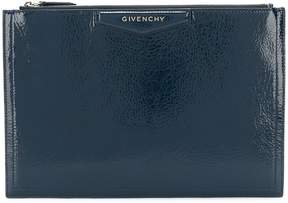 Givenchy vernished square shaped clutch