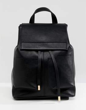 Asos DESIGN slouchy backpack with oversized pockets