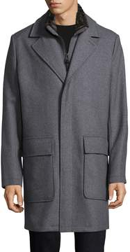 Cole Haan Men's Notch Wool Coat