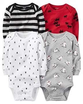 Carter's Baby Boys Multi-Pk Bodysuits 126g459, Assorted, 3M