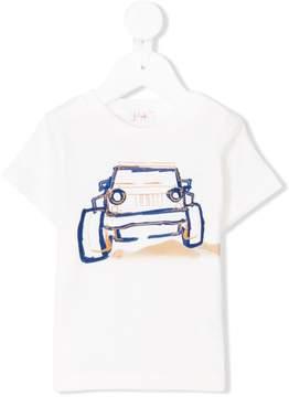 Il Gufo jeep print T-shirt