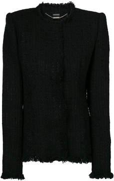 Alexander McQueen bouclé jacket