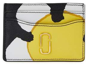Marc Jacobs Daisy Snapshot Printed Leather Card Holder