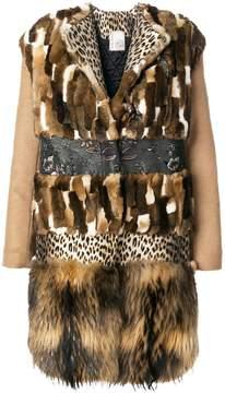 Antonio Marras panelled coat