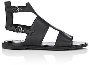 Jil Sander Navy WOMEN'S LEATHER GLADIATOR SANDALS