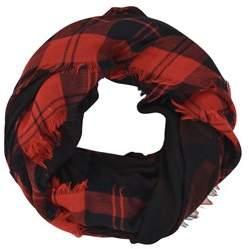 Valentino Men's Red Wool Scarf.