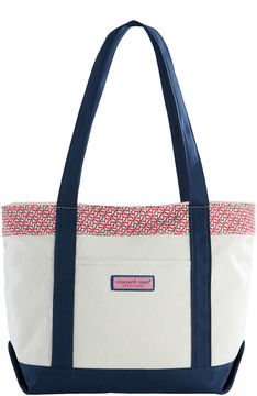 Vineyard Vines Holiday Whales Classic Tote
