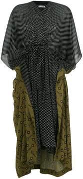 Balenciaga Double Kaftan dress